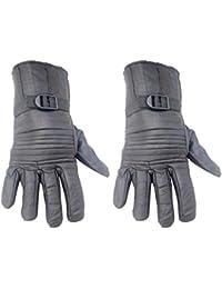 Modish Black Color Top Stitch Winter Men's Gloves