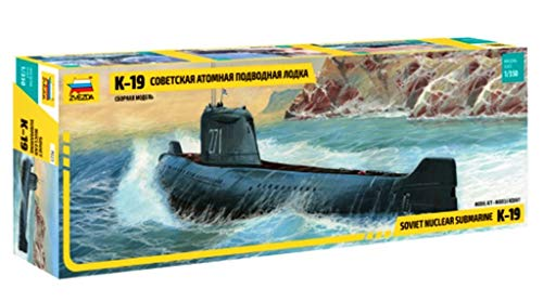 Zvezda - Submarino de modelismo Escala 1:350 (Z9025)