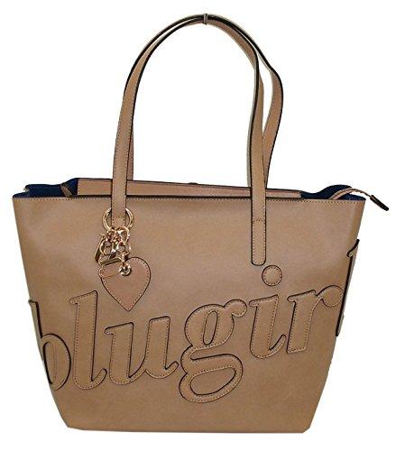 Borsa shopping due manici BLUGIRL by blumarine BG 917101 women bag cuoio