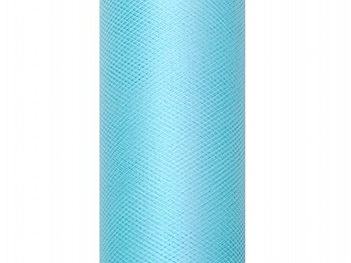 Tüll auf der Rolle türkis 30 cm breit x 9 m lang Tischläufer Stoff