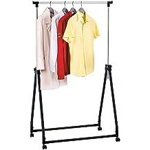 folding clothes rail. Black Bedroom Furniture Sets. Home Design Ideas