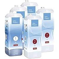 Miele Kartuschenset TwinDos UltraPhase 1 & 2 / Flüssigwaschmittel / Halbjahresvorrat / bunt und weiß