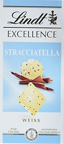 Preisvergleich Produktbild Lindt & Sprüngli Excellence Stracciatella,  4er Pack (4 x 100 g)