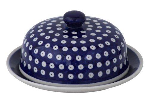 Boleslawiec Pottery GU-888/42 Cloche à fromage Motif 42