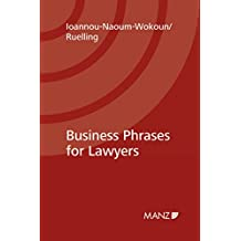 Business Phrases for Lawyers (English Edition)