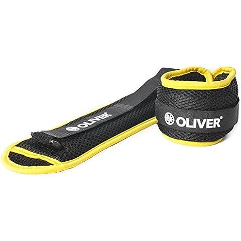 Oliver – pesas para muñecas y tobillos relleno de gel 2 X 0,75 Kg verde