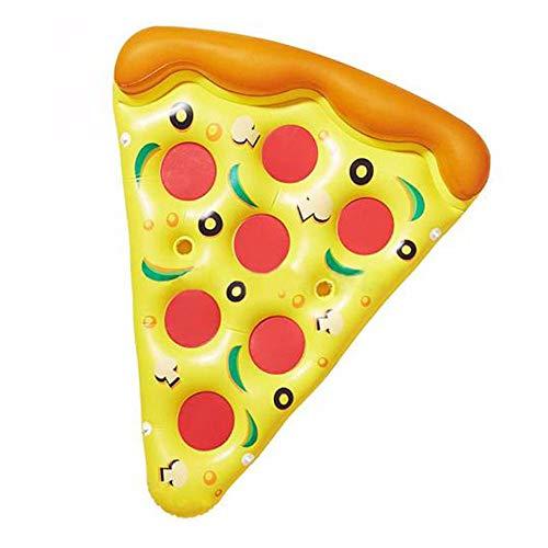 ZXYWW Fila di galleggiamento Gonfiabile della Pizza, Piscina Gonfiabile delle zattere dell\'amaca del Galleggiante per Il Giocattolo all\'aperto della Piscina del Partito della Spiaggia di Estate