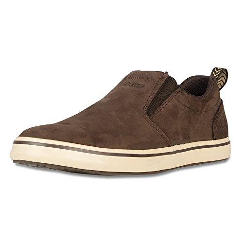 xtratuf sharkbyte Herren Nubuck Leder Deck Schuhe, schokolade (22501), 22501-BRN-110 (Leder Schuhe Schokolade)