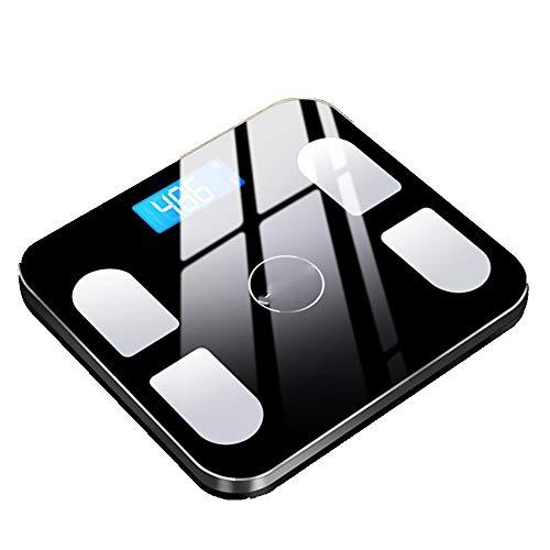 LIU Wentao Escala de pesoGrasa De Peso Electrónico Precisa para El Hogar Grasa Corporal Inteligente para Adultos Llamada Pérdida De Peso Corporal Humano Grasa para La Salud, Negro