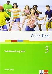 Green Line / Vokabeltraining aktiv 3 (7. Klasse): Arbeitsheft