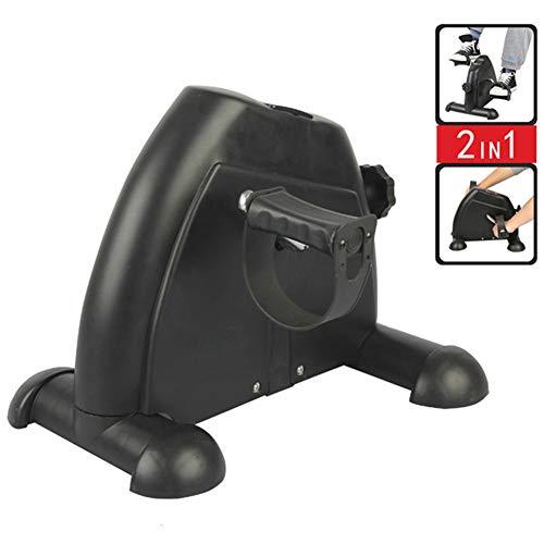 Pedal Exerciser médico Peddler para brazo de la pierna y la rodilla recuperación ejercicio con monitor LCD, mini bicicleta de ejercicio, bajo el pedal de escritorio bicicleta Exerciser