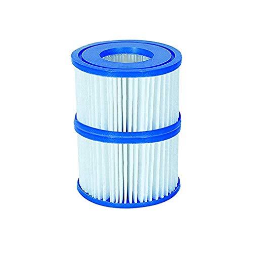 Bestway 58239 Lot de 2 packs duo de cartouches de filtration pour nouveau modèle Lay-z-spa Taille VI