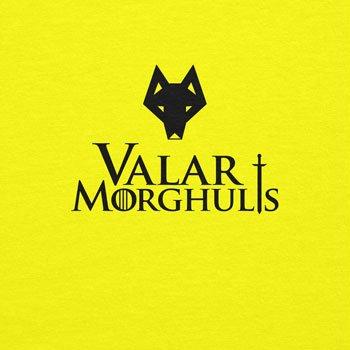 Texlab Got: Valar Morghulis - Herren T-Shirt Gelb