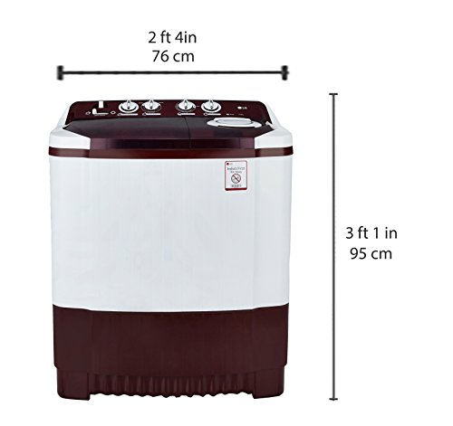 Buy Lg 7 5 Kg Semi Automatic Top Load Washing Machine