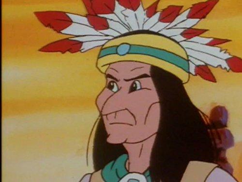 Bull Kind Kostüm - Das Ende der Indianer