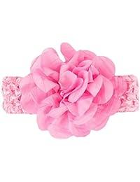 EOZY Bandeau Accessoire Fleur Cheveux Fille Bébé Bande Large Turban Elastique