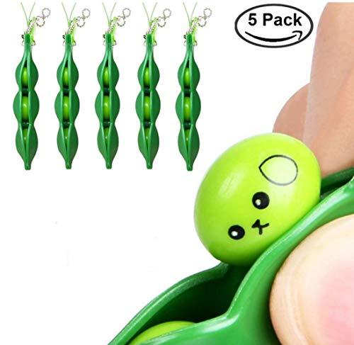 chtsausdrücke Squeeze Bean Fidget Spielzeug, ideal für Kinder und Release Erwachsene Stress und Angst, OCD, ADD, ADHD ()