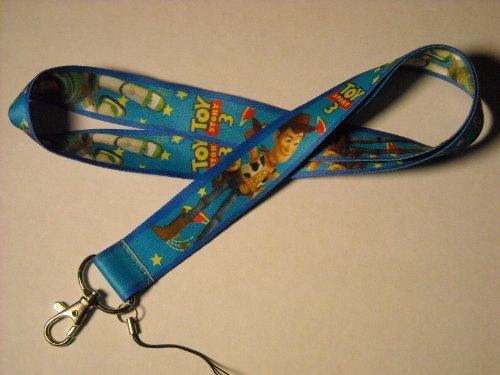 Toy Story 3 Print Lanyard Key Chain Id Badge Holder by Disney