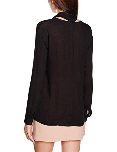 More & More Bluse 61092028, Blouse Femme Noir - Schwarz (Black 0790)