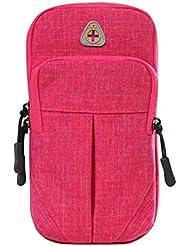 Pure Color Outdoor Sporting Goods Belle sac à main sac à main, rose