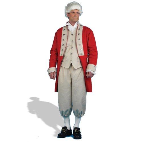Für Mantel Britischen Erwachsene Kostüm Roten - Forum Britischen Redcoat Herren Kostüm