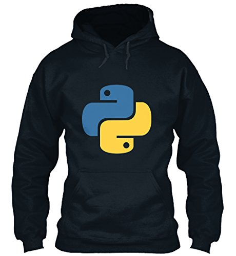 teespring Men's Novelty Slogan Hoodie - Python Programming Language T-Shirt