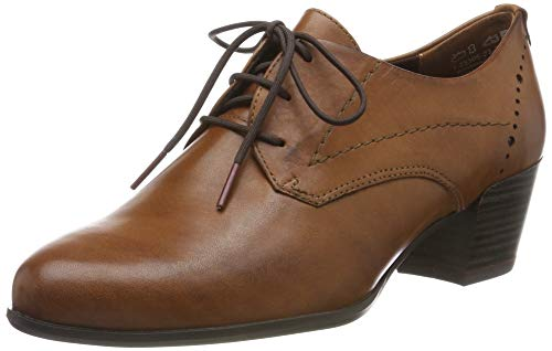 Tamaris Damen 1-1-23305-23 348 Derbys, Braun (COGNAC LEATHER 348), 38 EU