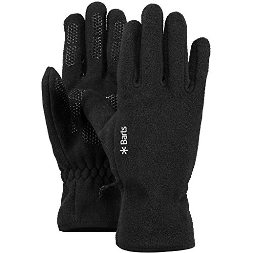 Barts Unisex Fingerhandschuh Schwarz (Schwarz) X-Large