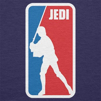 TEXLAB - Jedi League - Herren Langarm T-Shirt Navy