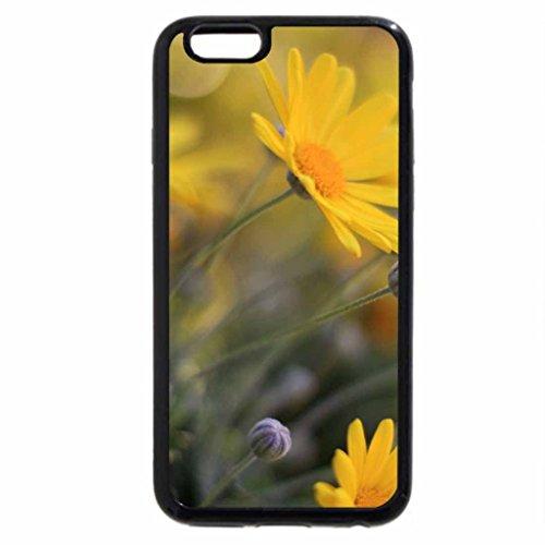 iPhone 3S/iPhone 6Coque (Noir) Flower Power