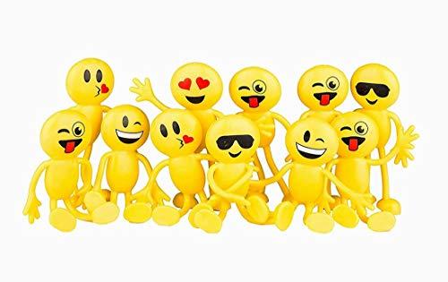Xiton Emoji Parteibevorzugungen Spaß Spielzeug 1 Dutzend 4.5