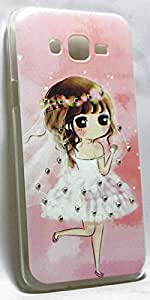 Storeaturdoor Cute Diamond Lovely Girl Print Hard Back Case Cover For Htc Desire 620