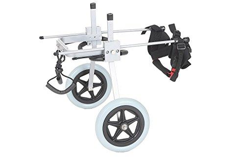 Silla de ruedas ajustable para perro,con altura de...