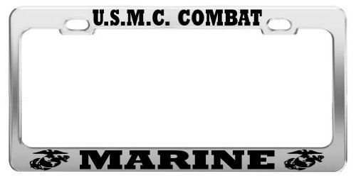 Lionkin8 USMC Combat Marine United States US Army Steel LIZENZSCHILZ-Rahmen -