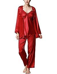 c9348de721 Amazon.es  Pijama Satin Mujer  Ropa