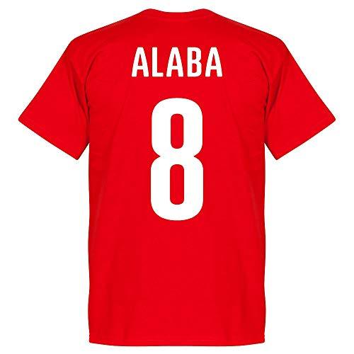 Österreich Alaba 8 T-Shirt - rot - XXXL