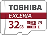 Toshiba Exceria M302 32GB Micro SD Memory Card 90 MB/s 4K - THN-M302R0320EA