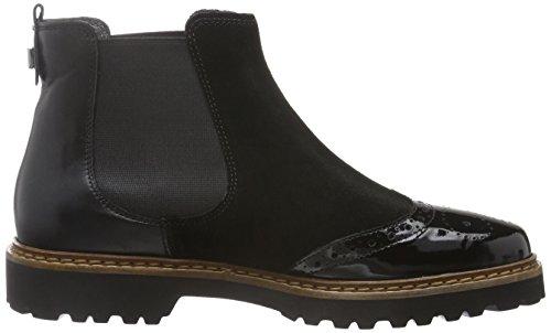 Sioux Damen Vellisa Chelsea Boots Schwarz (Schwarz)