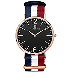 Marc Brüg Men's Minimalist Watch Ibiza 41
