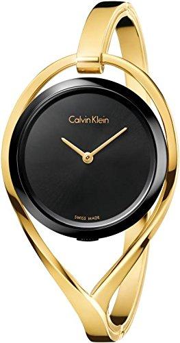 Calvin Klein Light Damen-Spangenuhr K6L2M411-M