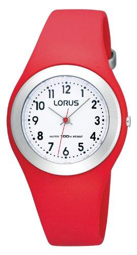Lorus Mdchen-Armbanduhr Kids Analog Quarz Kautschuk R2301GX9