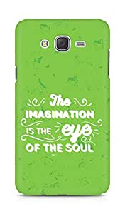 Amez The Imagination is the Eye of the Soul Back Cover For Samsung Galaxy J7