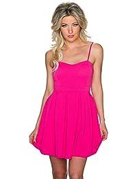 Fashion - Vestito - Sera - Basic - Senza maniche - Donna 6127113e3ce