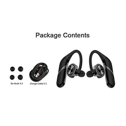 Jasnyfall S800 Stereo Bequeme RUNNING WEAR drahtlose Bluetooth-Kopfhörer HIFI Earhook schwarz