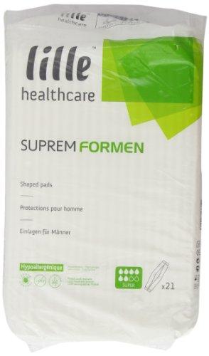 Patterson Medical Supreme Lilformen - Paquete de pañales desechables para hombre (21 unidades,...