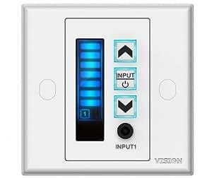 Vision TC2-AMP3 2.0canaux Maison Avec fil Blanc amplificateur audio - amplificateurs audio (2.0 canaux, 20 W, D, 1%, 98 dB, 50000 Ohm)