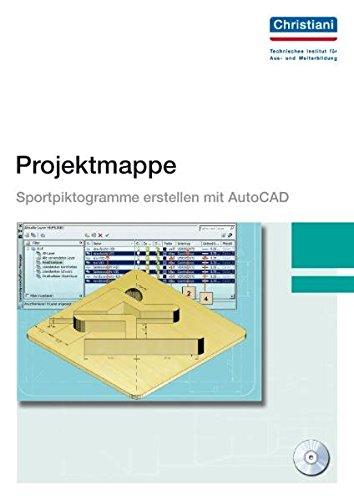 Projektmappe Sportpiktogramme erstellen mit AutoCAD