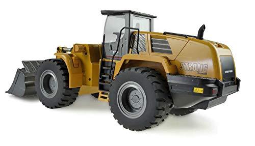 RC Auto kaufen Spielzeug Bild 3: Amewi 22343 Radlader 1:14, RTR, 10-Kanal, Ocker*