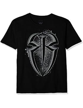 WWE Reigns Splatter Logo, Camiseta para Niños