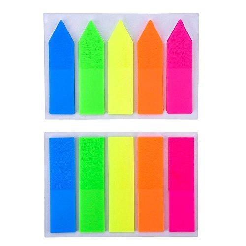 eboot-2-juegos-neon-marcador-de-pagina-banderas-lenguetas-del-indice-nota-adhesiva-para-calificacion